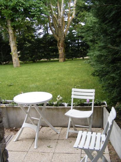"""Terrasse de la Chambre """"Côté jardin"""""""
