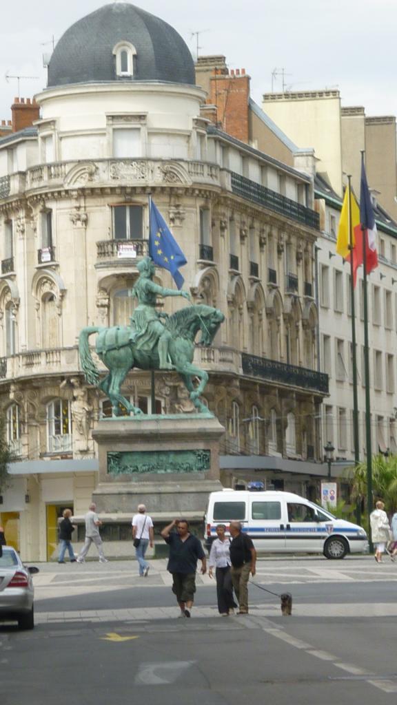 Place du Martroi Orléans